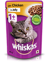 Whiskas Chicken Jelly Wet Food (Adult)