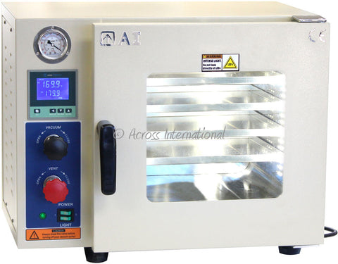 "Across International 0.9 Cu Ft 12x12x11"" Vacuum Oven"