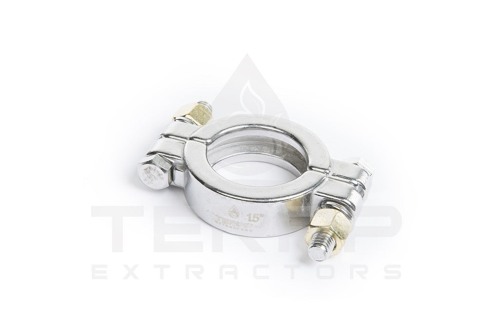 Sanitary High Pressure Tri-Clamps