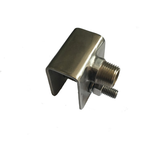 "Mounting Bracket with 1/2"" Male Pipe Thread"