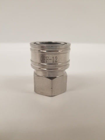 "1/2"" Female NPT to 1/2"" Female Quick Connect (QC)"