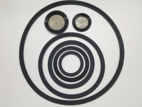 Low Quality Viton TriClamp Gaskets
