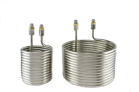 "3/8"" SAE Stainless Steel Chiller Coil"