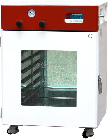 "Across International 4.4 Cu Ft Elite 20x20x20"" Digital Vacuum Oven with 6 Shelves & LED Lights"