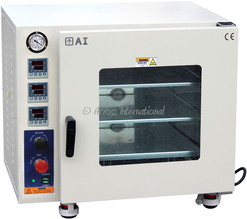 "Across International 3.2 Cu Ft AccuTemp 18x18x18"" Vacuum Oven"