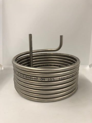 "Custom 3/8"" Stainless Steel Coil"
