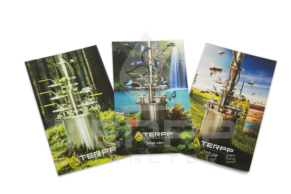 "Terpp Extractors ""Extract From Nature"" design magnets"