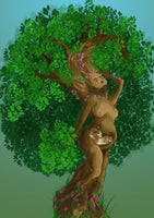 Mother Nature- Personalise your baby's scan photo!