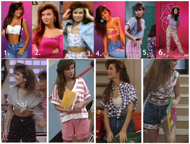 Crop Tops Through the Ages | LE3NO