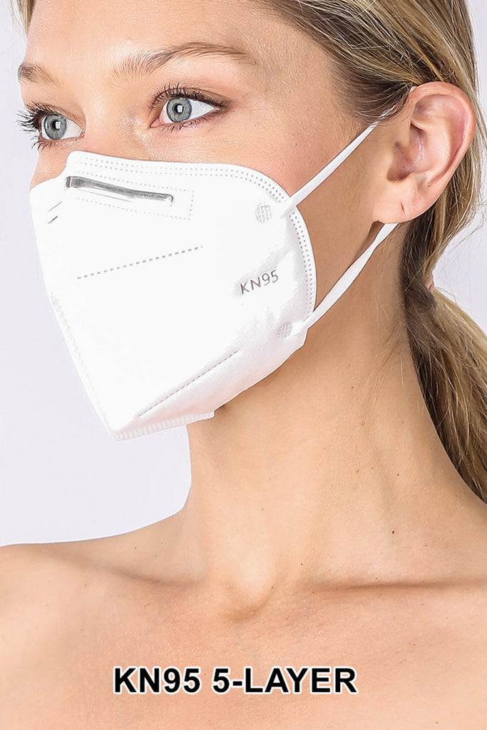 10 pcs 5-Layered KN95 Disposable Non Medical Face Mask