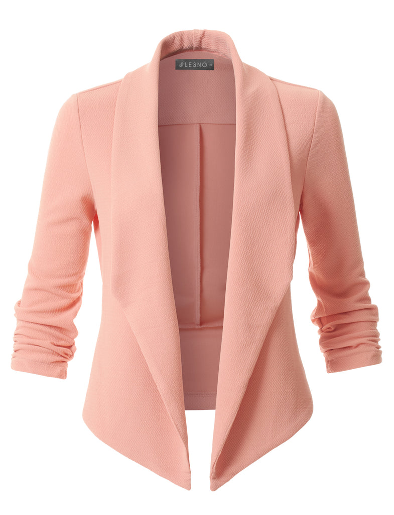 Image result for peach blazer