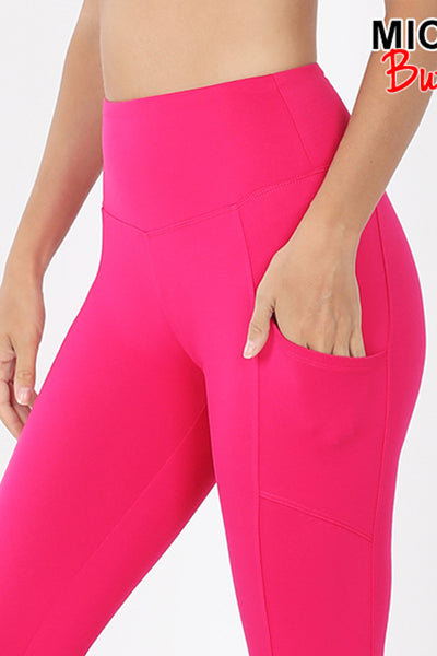 Active Brushed Microfiber Full Ankle Length Leggings