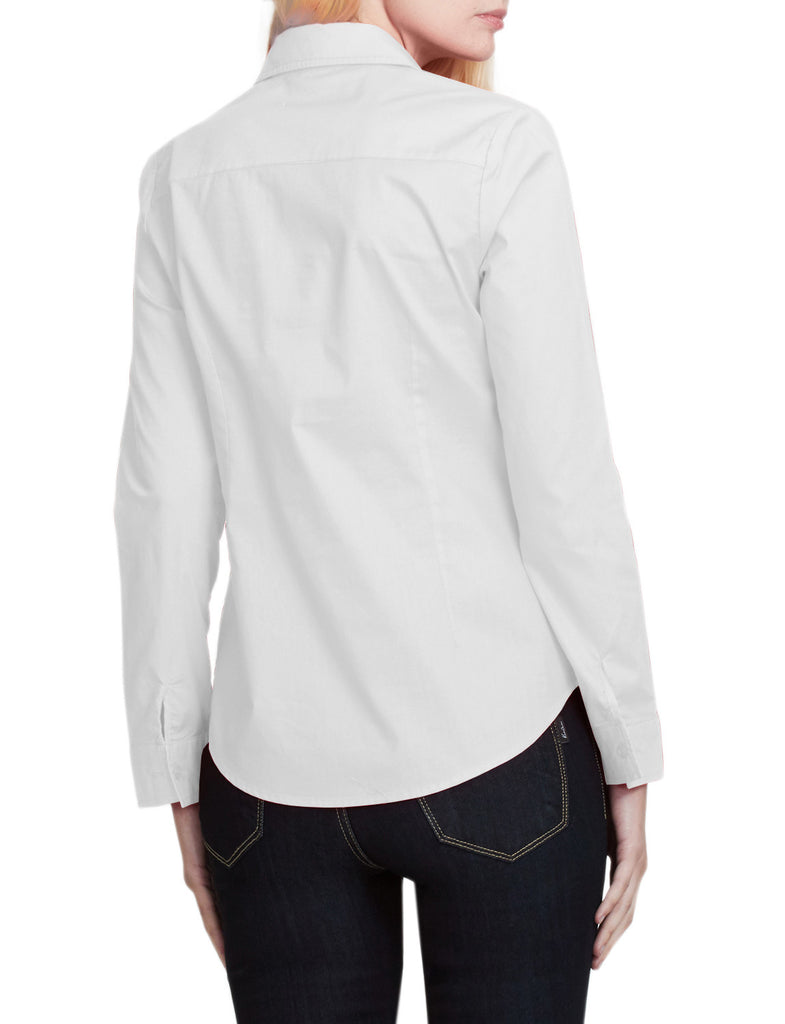 Le3no Womens Lightweight Casual Long Sleeve Button Down