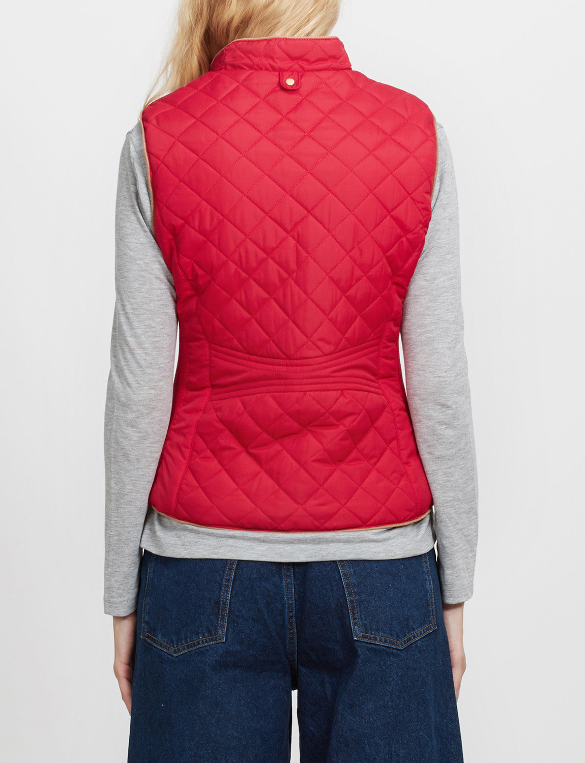 NENONA Womens Lightweight Diamond Quilted Puffer Vest Coat Winter Casual Zip Up Padded Outwear with Pockets