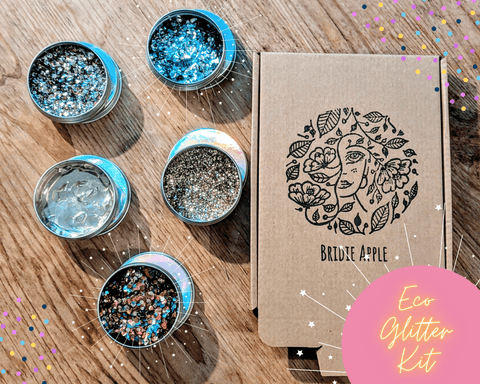 Eco Glitter Christmas Kit - Face, Body, Hair + Arts & Crafts