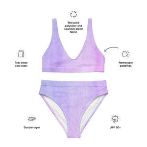 Tulip - Recycled High-Waisted Bikini Set