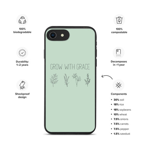 Grace - Biodegradable Phone Case