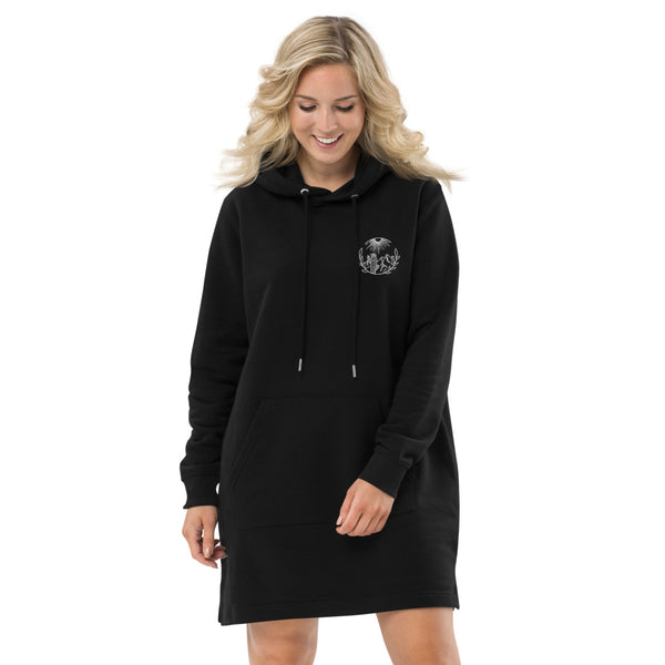 Desert Dreams - Organic Hoodie Embroidered Dress