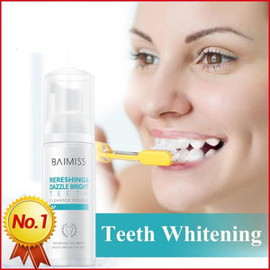 Tooth-Cleaning Mousse Toothpaste