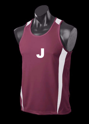 Custom - Contrast BASKETBALL SINGLETS - Local / Social Comps - Numbered Front & Back