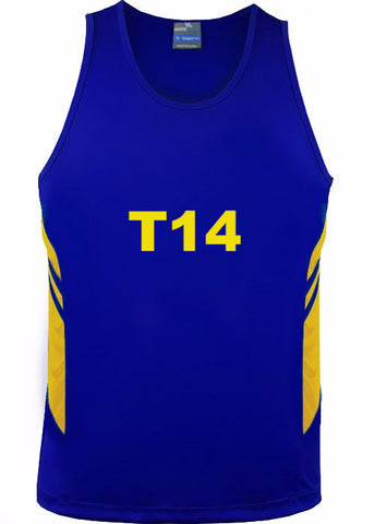 Custom - MVP BASKETBALL SINGLETS - Local / Social Comps - Numbered Front & Back