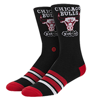Chicago Bulls BLACK Socks