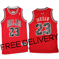 BUDGET CHICAGO Bulls MICHAEL Jordan Red JERSEY - Free Delivery