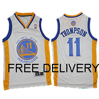 Budget GOLDEN STATE WARRIORS WHITE KLAY THOMPSON - Free Delivery