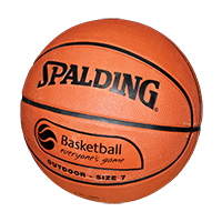Spalding TF50 & 150 - Outdoor Rubber Basketballs