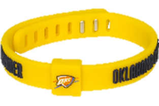 Oklahoma City Thunder - Wrist Band