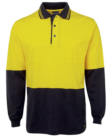 Hi Viz Cotton Safety Polo'S (6CPHL)