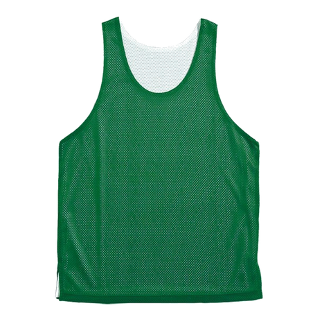 BASKETBALL REVERSABLE SINGLETS - GREEN / WHITE
