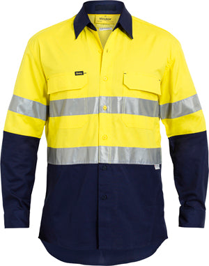 Hi Viz Safety SHIRT WITH 3M REFLECTIVE TAPE (BS6415T)