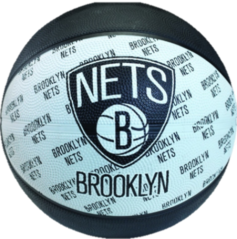 Brooklyn Nets Rubber Basketballs