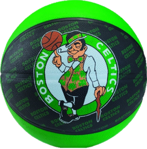 Boston Celtics Rubber Basketballs