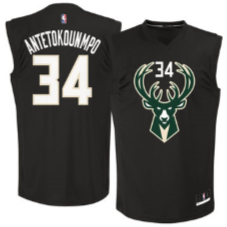 Budget Milwaukee Bucks Black Gianis Antetokounmpo - Free Delivery