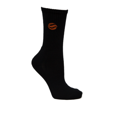 BASKETBALL AUS BLACK LONG SOCKS