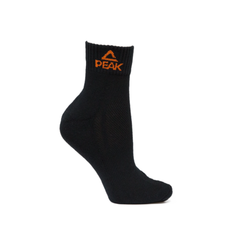 BASKETBALL AUS BLACK MID SOCKS