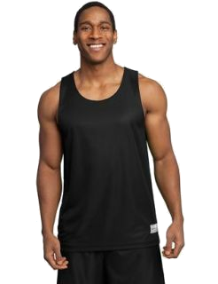 REVERSABLE BASKETBALL UNIFORM - BLACK / WHITE