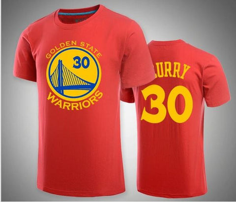 Stephen Curry Red Kids T-shirt