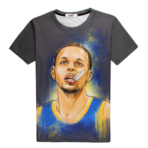 Stephen Curry Mouth Guard Kids T-shirt