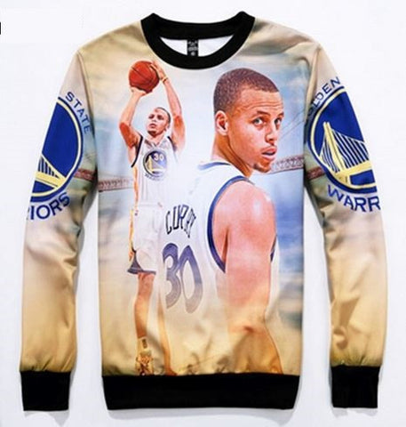 Stephen Curry White Kids Jumper