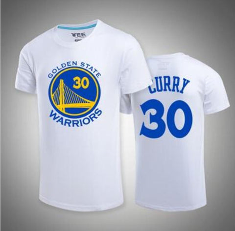 Stephen Curry White Kids T-shirt