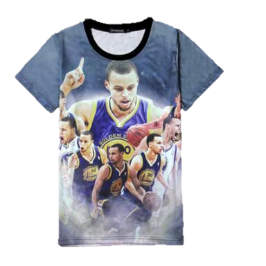 Stephen Curry Finger Kids T-shirt