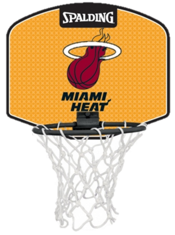 Miami Heat Mini Backboards