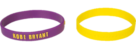 Los Angeles Lakers Kobe Bryant - Wrist Band