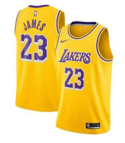 BUDGET LA LAKERS LEBRON James Gold - Free Delivery