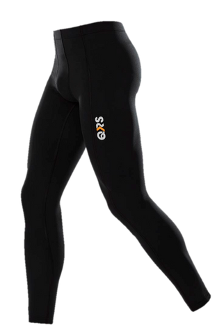 Compression Adult Leggings (Black / White) Black in Store Now - White Ordered Upon Request