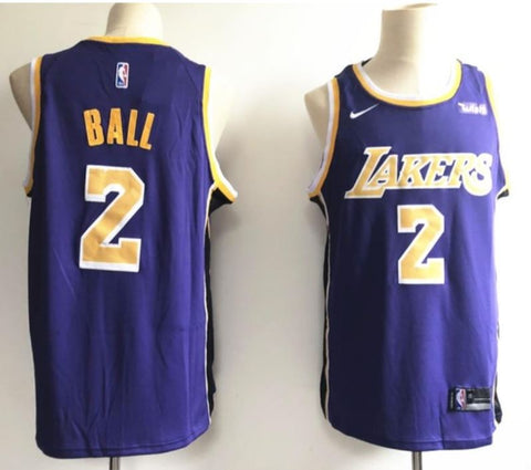 BUDGET LA LAKERS Lonzo Ball Purple - Free Delivery
