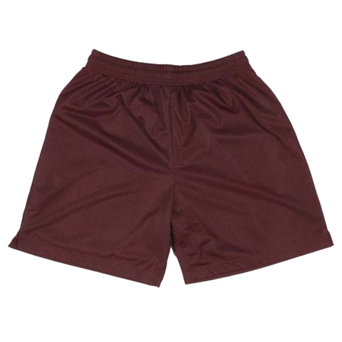 BASKETBALL SHORTS MAROON